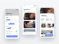 Find dentist app concept