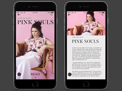 Daily UI 10 fashionmagazine fashion app fashion socialshare branding app ux uidesign dailyui uid ui design dailychallenge daily 100 challenge