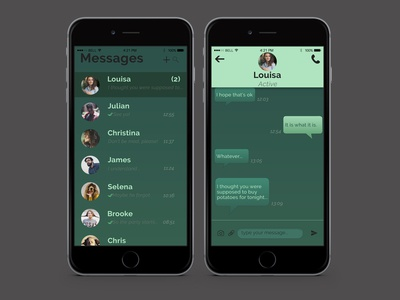 Daily UI 13-Direct Messaging