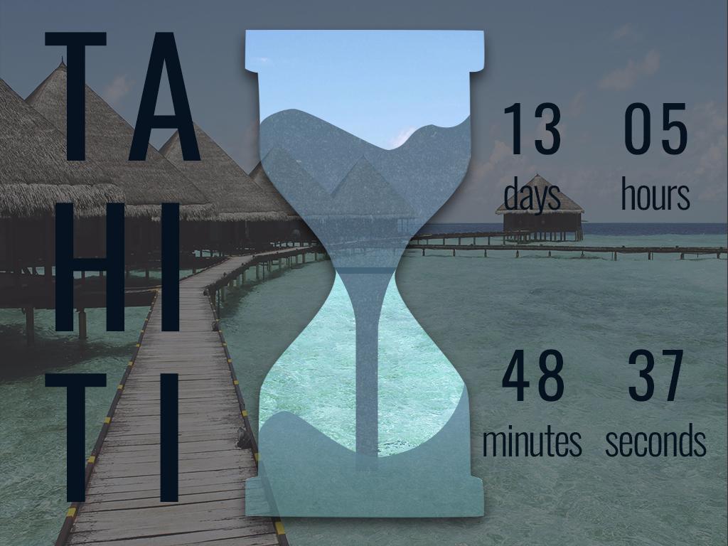 Daily UI 14 - Countdown Timer trip day14 countdown timer countdown branding app ux uidesign uid ui design dailyui dailychallenge daily 100 challenge
