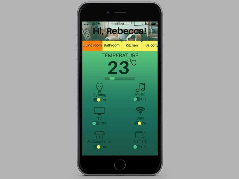 Daily UI 21 - Home Monitoring Dashboard icon day21 home monitoring dashboard typography branding app ux uidesign uid ui design dailyui dailychallenge daily 100 challenge