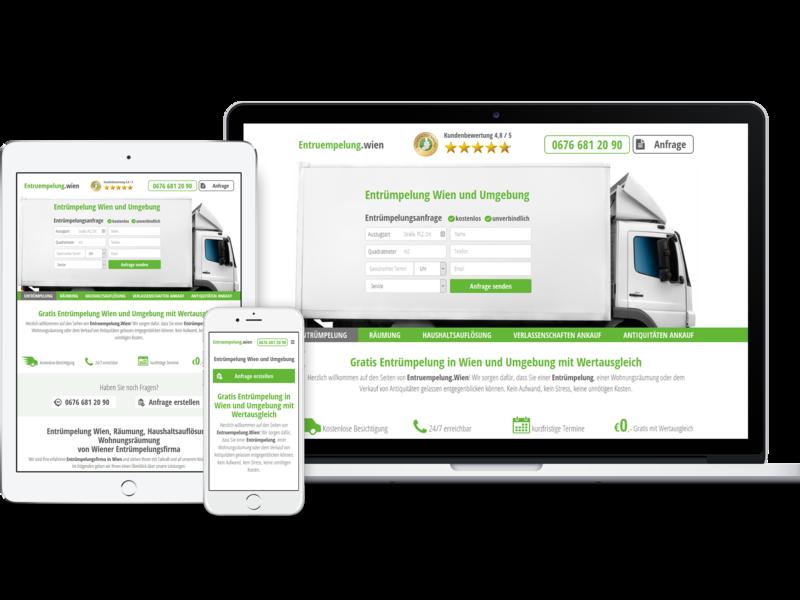 Entruempelung Wien wien vienna responsive website responsive web