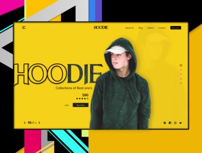 Hoodie- Header for hoodie