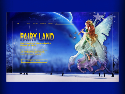 Fairy Land Header Design