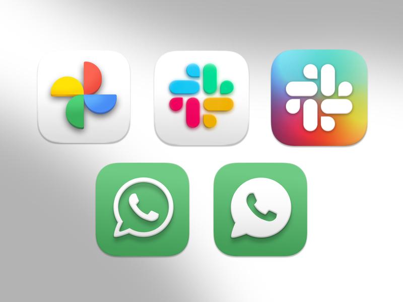 Big Sur Icons 2 by Hector O big sur concept icon design macos icon set design