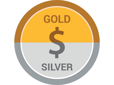 US Gold and Silver Rates App Icon by Pooja on Dribbble