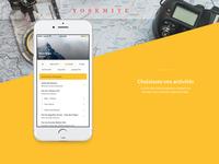 Trekkk - Concept App