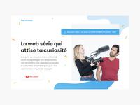 Keep Curioous — Homepage