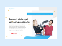 Keep Curioous — Homepage