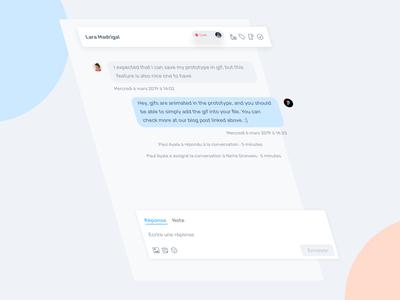 Agorapulse — DM agorapulse message private dm crm chat