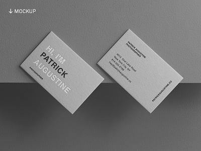 Business Card Mockup Bundle 3/30 freebie logo branding brand identity business card stationery mockup psd mockup freebies free mockup business card mockup minimalist type typography wordmark logotype download free download template