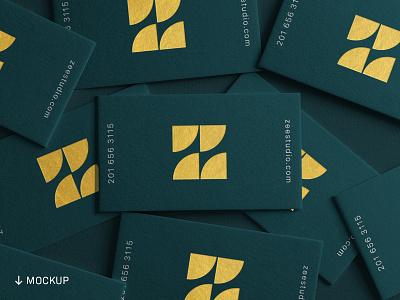 Business Card Mockup Bundle 4/30 freebies download minimalist gold logotype typography type monogram z lettermark branding logo business card branding mockups stationery mockups business card mockups mockups mockup