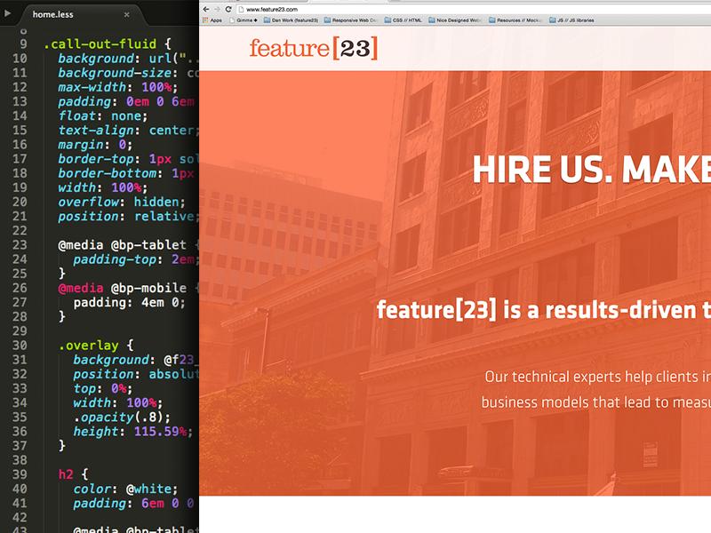 feature[23] Site feature23 ui design ux design interface design web web design svg logo orange klavika