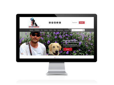 K9 For Warriors Web Design