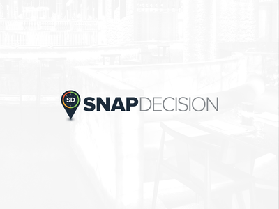 Snap Decision Logo feature23 ui design ux design interface design application consulting logo brand