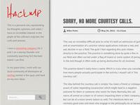 HackMP Blog Design