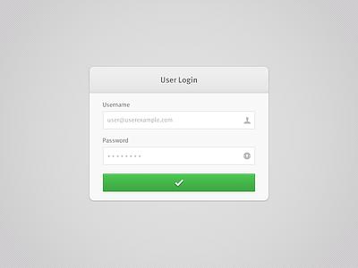 Form Field — Free PSD form field input fields green button button meta psd free psd