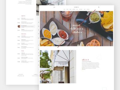 Estela - Elegant Restaurant Website