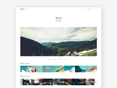 Novo: Quick View