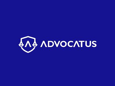 Advocatus app logo law logo law flat logo logo