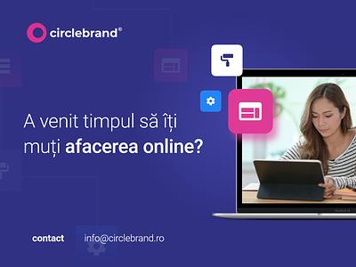 Business online - Circlebrand website design website graphic design branding advertising web design