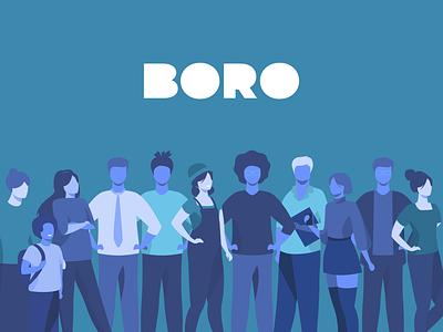 BORO - Business Online Romania illustration design graphic design online business romania