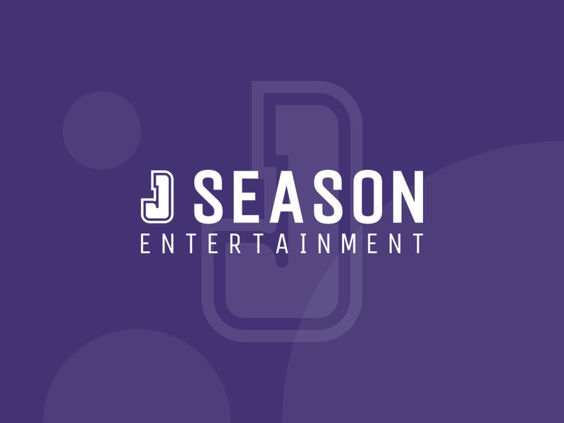 J Season (Entertainment) work purple branding event entertainment illustration design logo