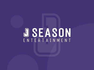 J Season (Entertainment) work purple branding event entertainment illustration design logo