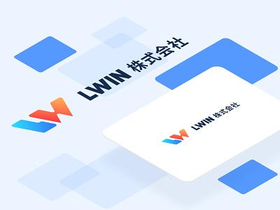 LWIN 株式会社 work company branding illustration design logo