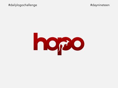 #dlc Kangaroo Logo - Hopo, Day 19