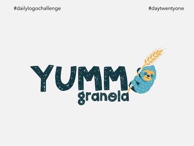 #dlc Granola Company Logo - Yumm Granola, Day 21