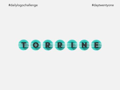 #dlc City Logo Design - Torrine, Day22