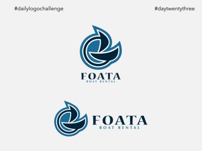 #dlc Boat Logo Design - Foata, Day23