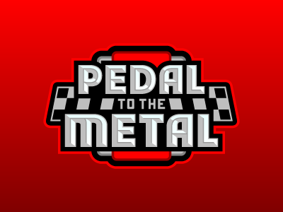 Pedal to the Metal metal pedal nascar fantasy daily fantasy sports sports logos logos sports sports design dfs