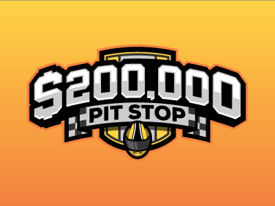 Pit Stop pit stop nascar fantasy daily fantasy sports sports logos logos sports sports design dfs