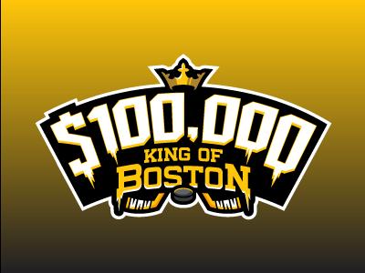 NHL King of Boston boston bruins hockey fantasy daily fantasy sports sports logos logos sports sports design dfs