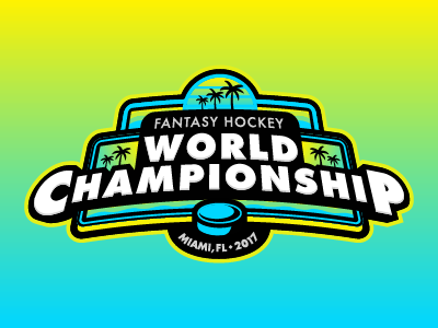 Fantasy Hockey World Championship florida miami sports sports logo hockey nhl