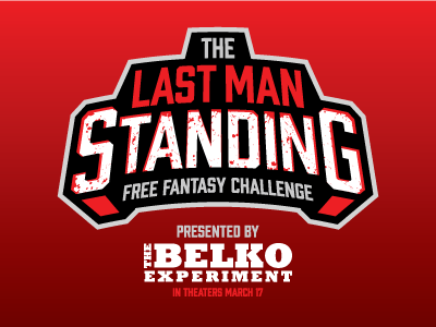The Last Man Standing belko experiment basketball fantasy daily fantasy sports sports logos logos sports sports design dfs