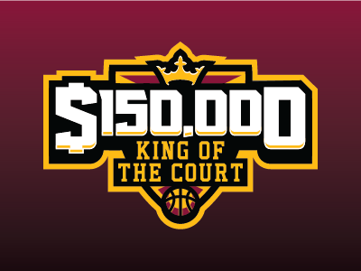 King Of The Court basketball nba fantasy daily fantasy sports sports logos logos sports sports design dfs