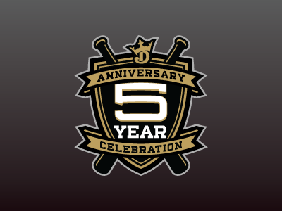 DK 5-Year Anniversary draftkings fantasy daily fantasy sports sports logos logos sports sports design dfs