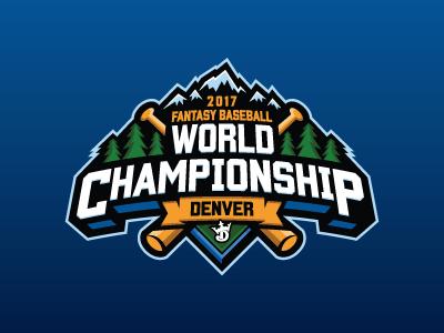 Fantasy Baseball World Championship denver baseball mlb fantasy daily fantasy sports sports logos logos sports sports design dfs