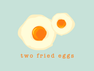 Two Fried Eggs - Logo Design