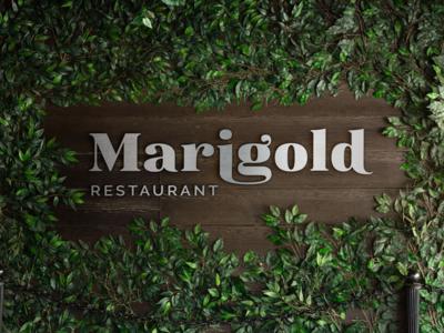 Marigold Restaurant - Logo Design