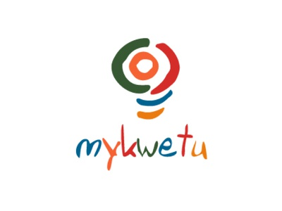 Mykwetu Logo Design african logos multicolor orange and blue red and green african brands colourful logo bulb logo african logo agent orange design african