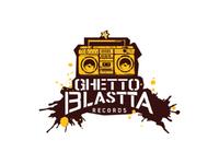 Ghetto Blastta Records Logo Design
