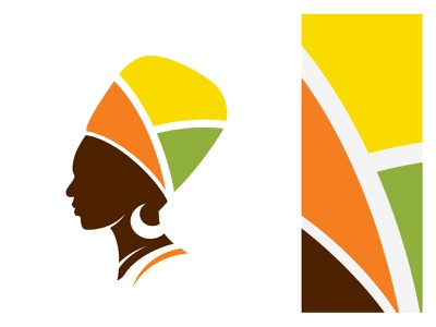 African Woman - Logo Icon