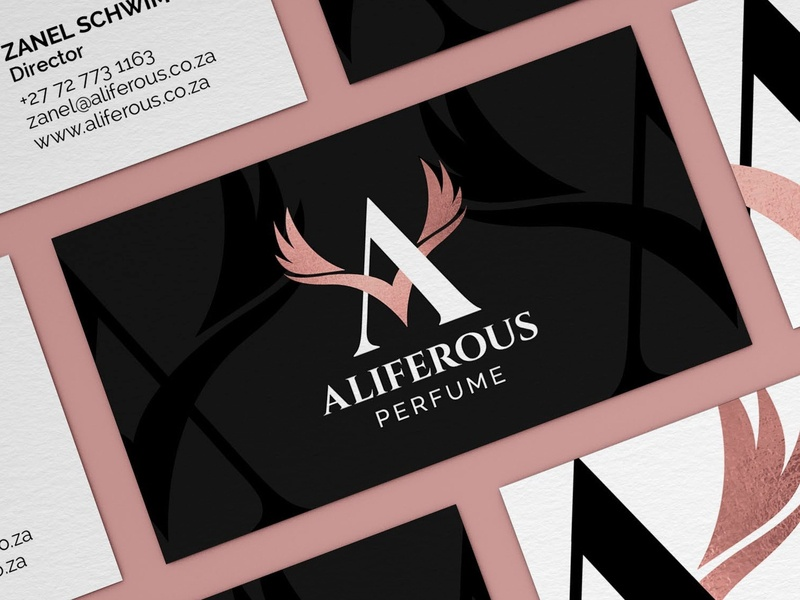Aliferous Perfume Logo Design