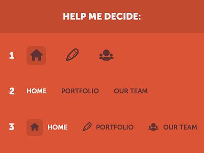 Nav Style nav modo redesign red icon help