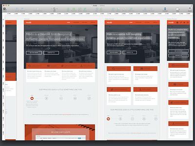 Modo Redesign modo red redesign marketing homepage company