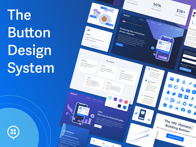 Button Design System illustration design